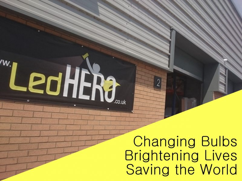 Changing bulbs, brightening lives, saving the world!