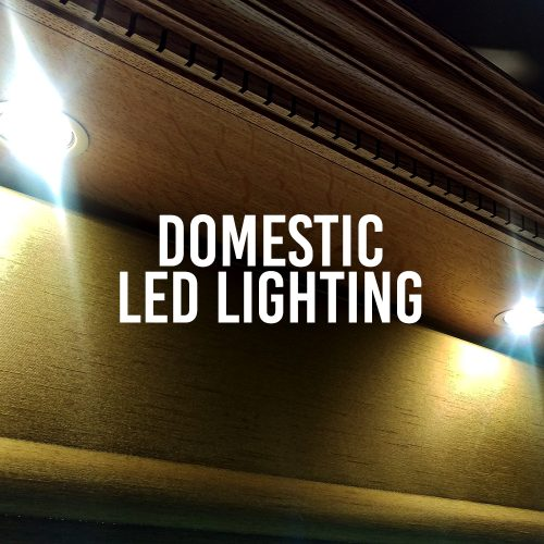 Domestic LED Lighting